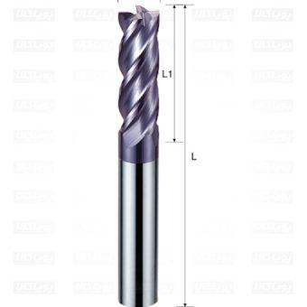 انگشتی کاربایدی فولاد تراش - 1 - 4 - 2 - 40 - 4