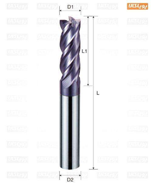 انگشتی کاربایدی فولاد تراش